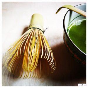 gemaakte Matcha thee