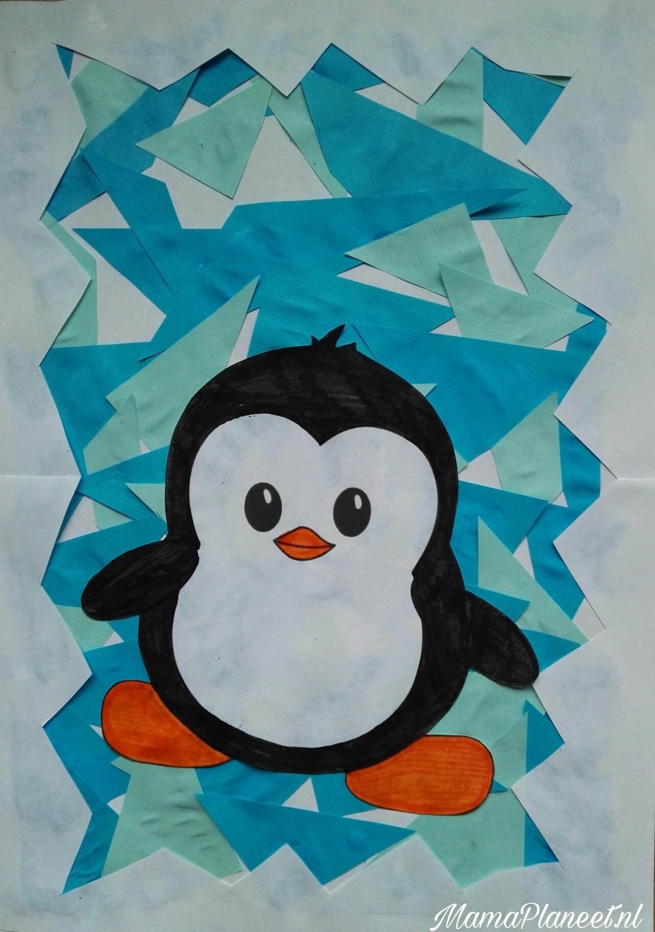 Knutseltip: Pinguin op een ijsschots