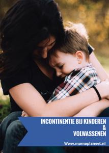 moeder troost haar onzekere zoon na een ongelukje - incontinentie bij kinderen en volwassenen