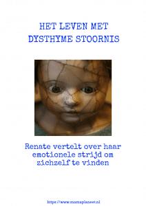 een gebroken pop als symbool voor een leven met dysthyme stoornis