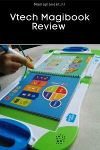 Spelend leren met interactief boek Vtech Magibook voor baby, dreumes, peuter en kinderen review MamaPlaneet.nl