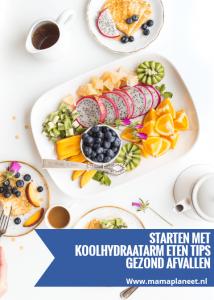 Gezond afvallen met koolhydraatarm eten gaat niet zozeer om hoeveelheid calorieën maar om soorten calorieën