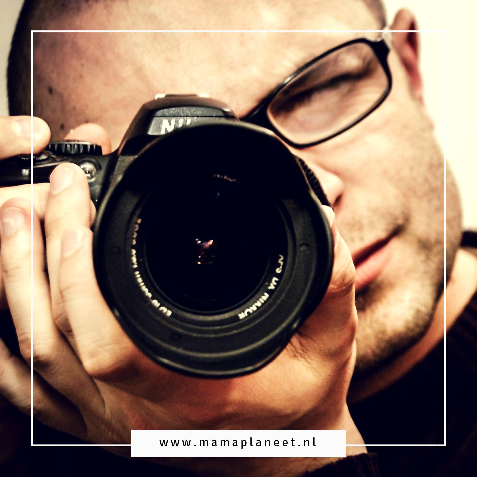 schoolfotograaf maakt de schoolfoto