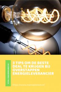 tips overstappen energieleverancier geld besparen