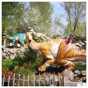vleesetende dino's in Dinoland