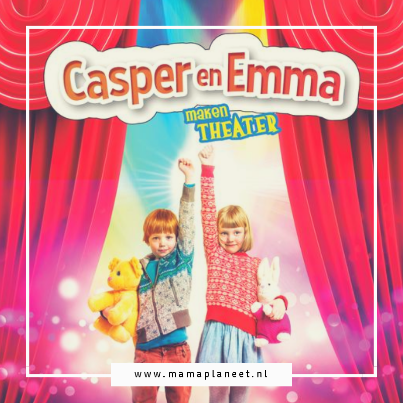 Filmposter Casper en Emma maken theater