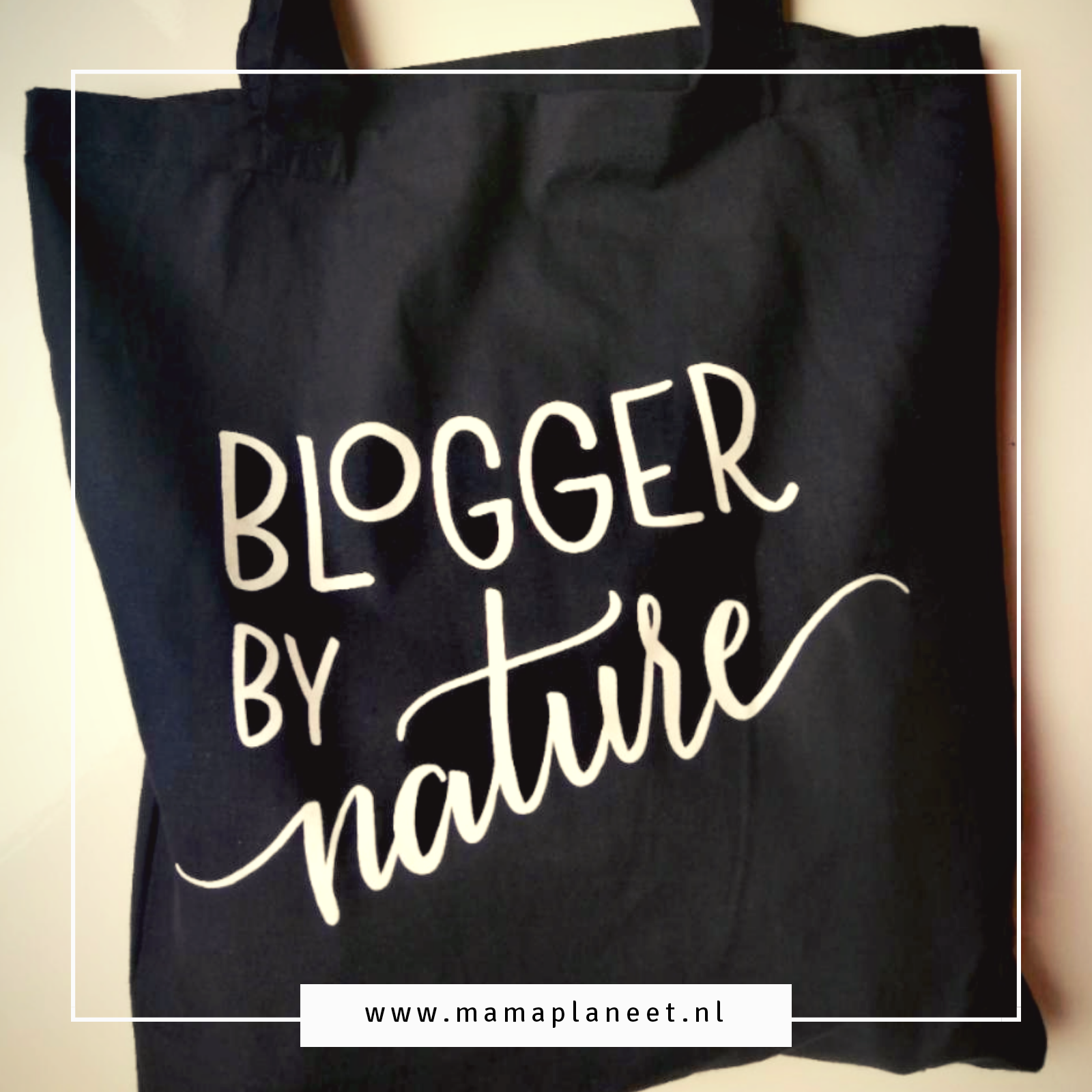 Blogger By Nature tas