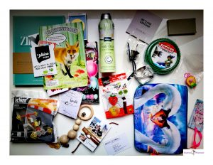 Blogger by Nature goodiebag producten
