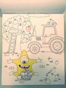denksport voor kids kleurblok