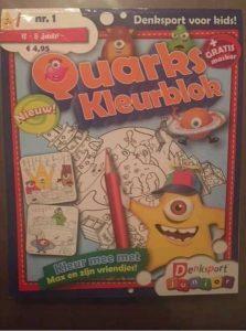 Denksport junior kleurboek