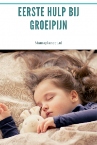 eerste hulp bij groeipijn kind