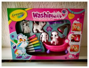 Washimals in verpakking
