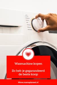 wasmachine kopen tips