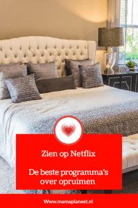 Netflix programma over opruimen van je huis