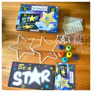 String Art kit voor kinderen: 3D Glow in the dark