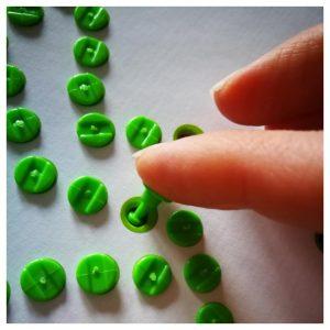 Werkwijze String It beschrijving : Pinnetjes indrukken