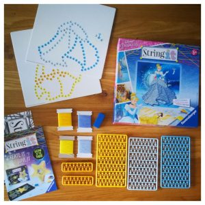 String Art kit voor kinderen - Prinsessen