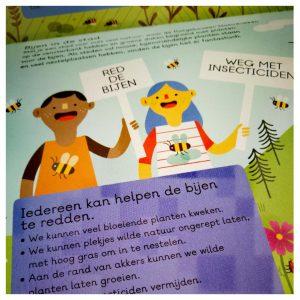 kinderboek over bijen