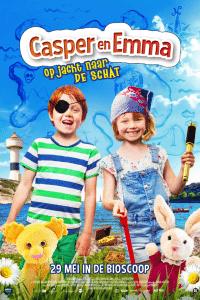Poster van de film CASPER EN EMMA OP JACHT NAAR DE SCHAT