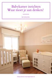 babykamer inrichten is een van de leukste dingen die je als zwangere mag doen