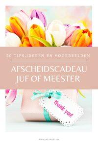 Juffen bedankje eind van het schooljaarAfscheidscadeau juf of meester: 50 ideeën voor klein of persoonlijk bedankje en cadeau MamaPlaneet.nl