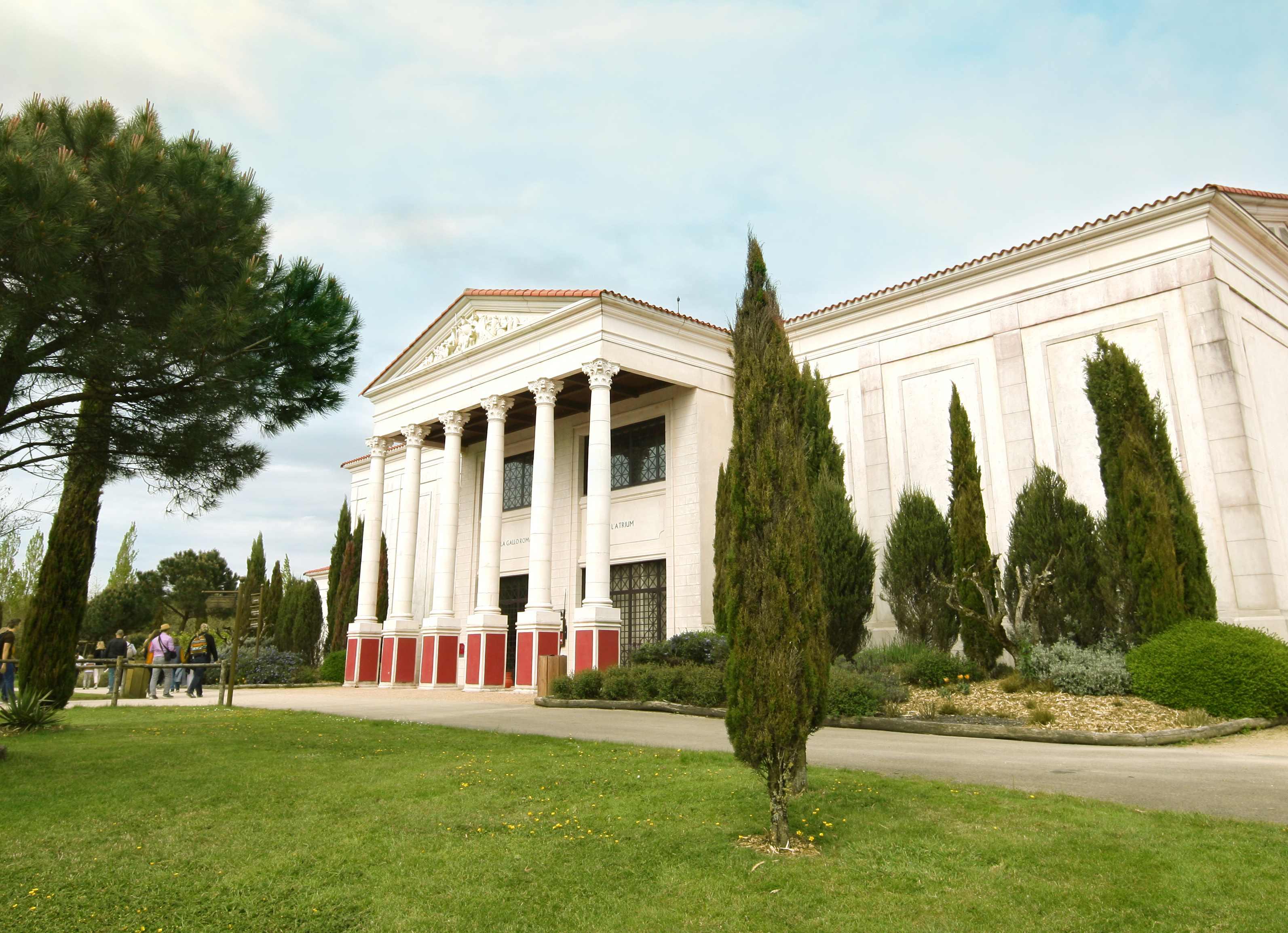 La villa Gallo-Romaine Puy Du Fou overnachten bij Puy Du Fou Oude Rome hotel