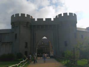 Kasteelhotel La Citadelle kasteelruine