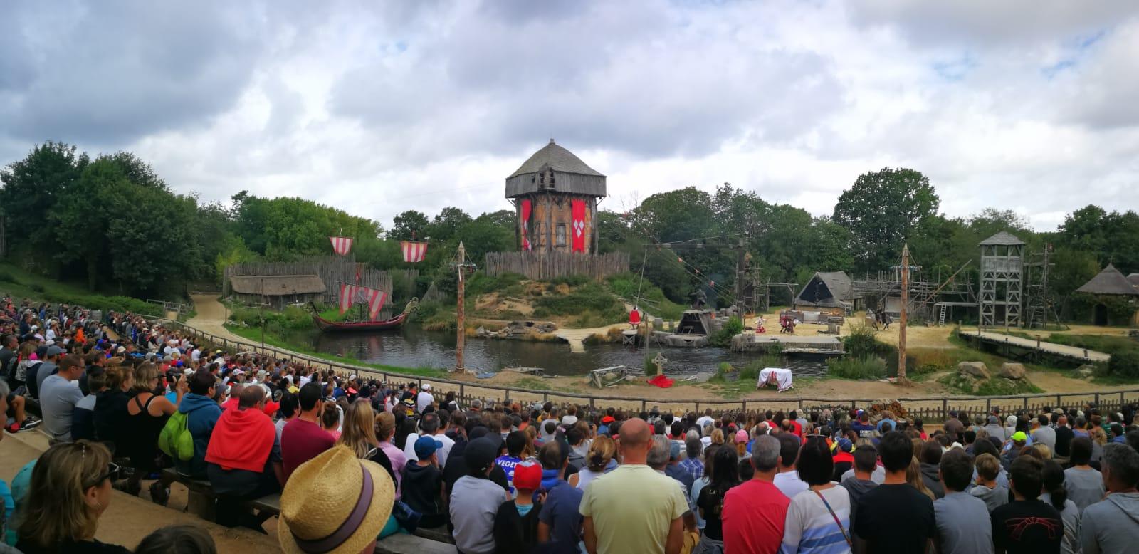 Les Epesses, Frankrijk attractiepark puy du fou les vkings