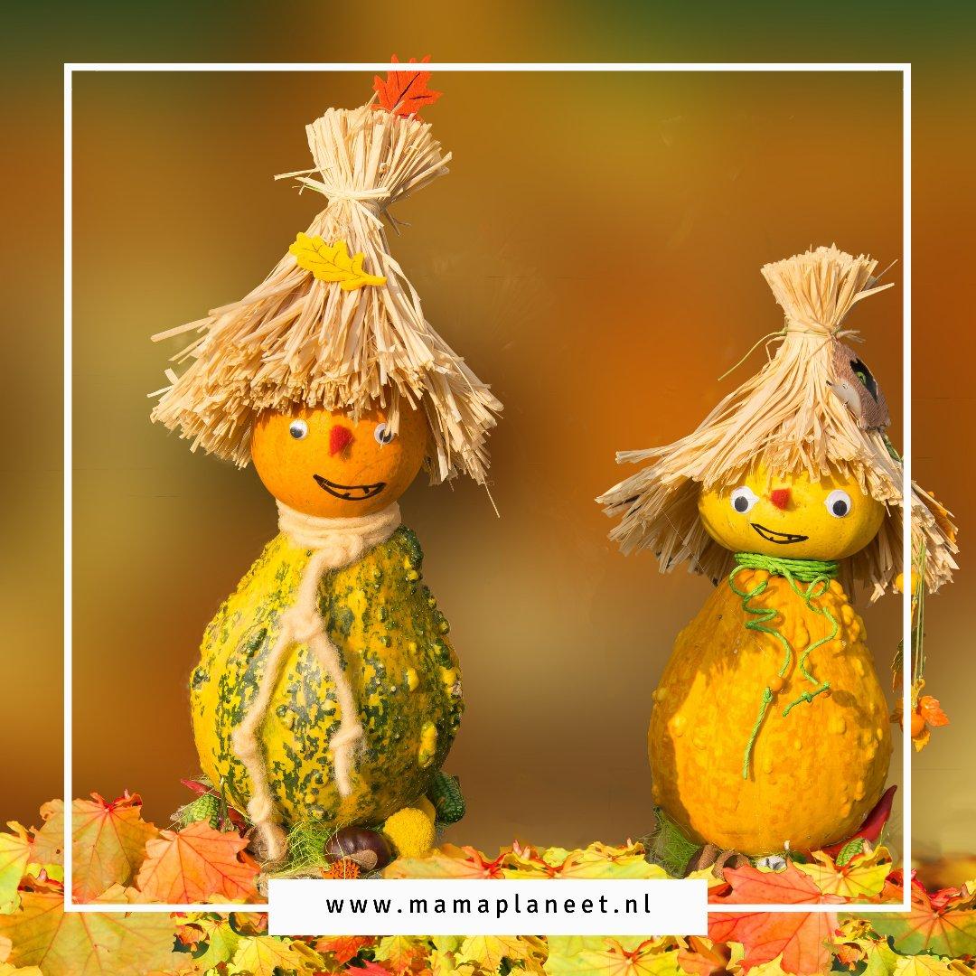 herfst knutselen met baby, dreumes, peuter, kleuter, kinderen
