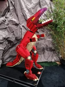 dino Jurassic Park LEGO world Jaarbeurs Utrecht