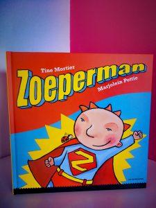 kinderboek zoeperman