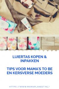 inhoud luiertas kopen en inpakken tips voor mama's to be en kersverse moeders