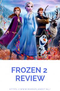 Elsa, Anna, Olaf, Sven en Kristof in Frozen 2