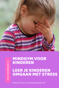 schoolkind met stress