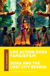 Life action Dora filmposter
