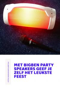 Bigben Party Speaker met microfoon
