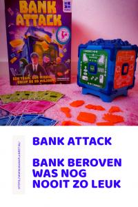 Bank Attack van Megableu is een snelle reactie spel voor het hele gezin