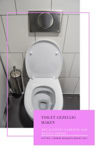 toilet pimpen met klein budget