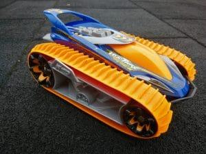 NIKKO TOYS Velocitrax bestuurbare rc auto oranje blauw rupsbanden
