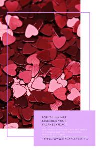 Valentijn knutselen met kinderen