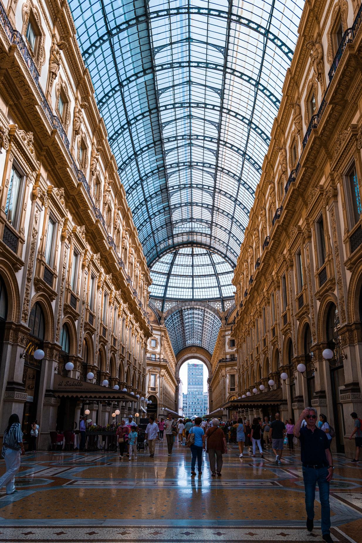 Galleria Vittoria Emanuele ll Milaan
