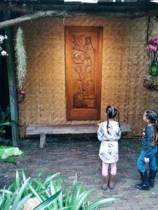 Jungle kunst Orchideeënhoeve Luttelgeest