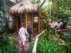 Jungle avontuur met kinderen in Flevoland Amazone Regenwoud Orchideeenhoeve