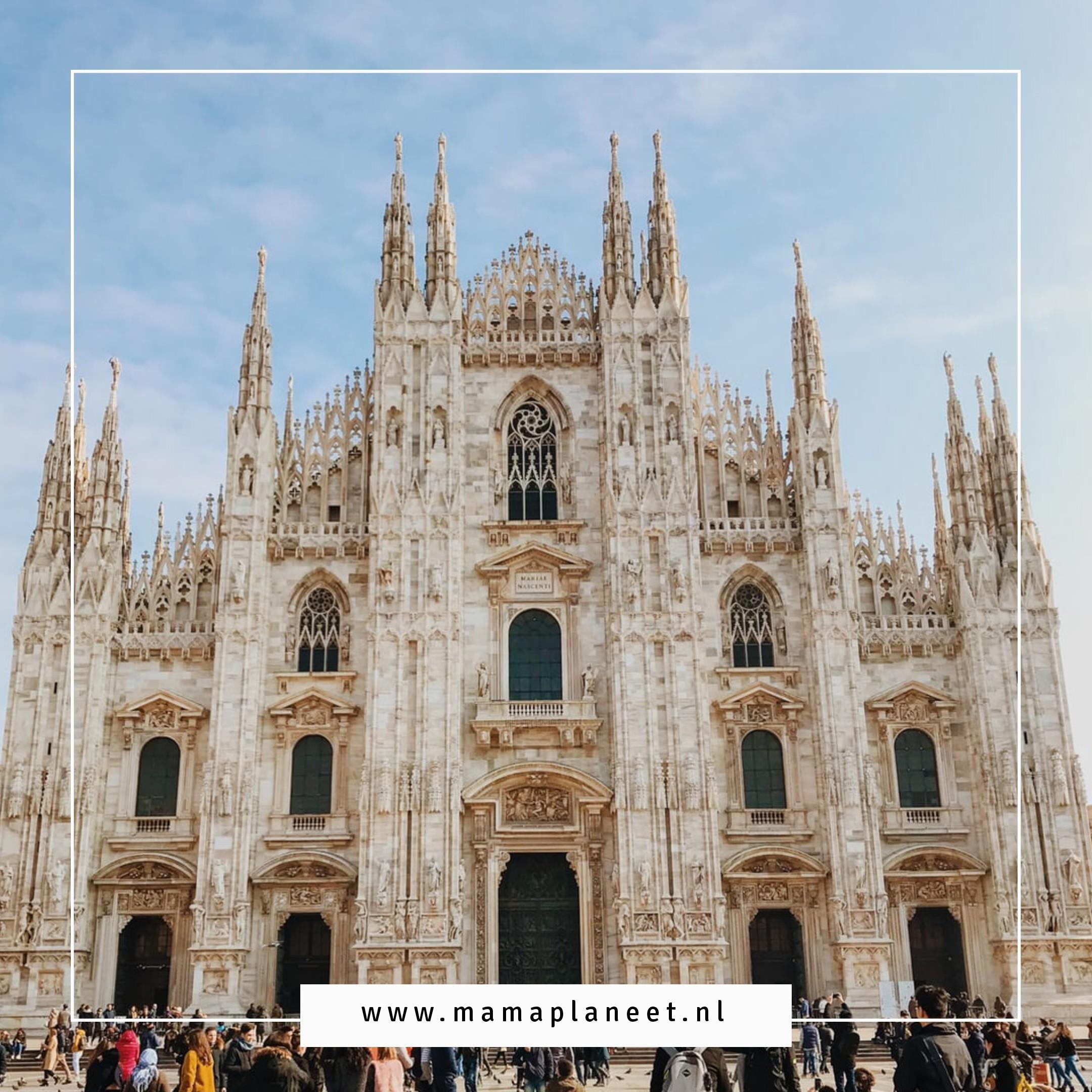 De Duomo Milaan met kinderen