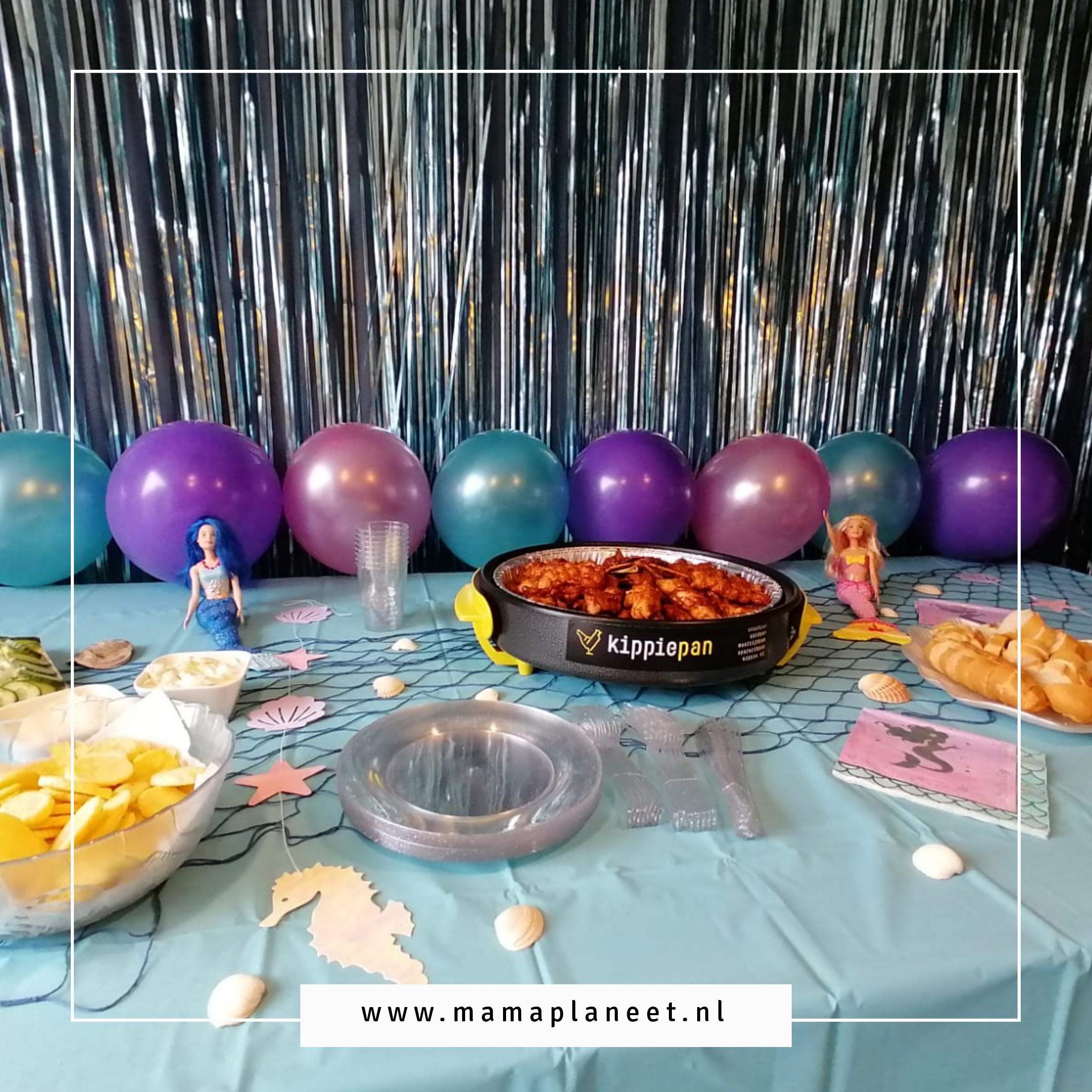feestfood verjaardag elektrische snackpan