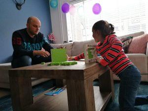 Stategisch bordspel voor kinderen en ouders