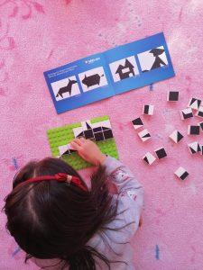 Hubelino tangram denkspel voor kinderen