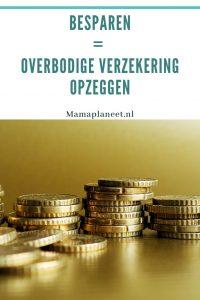 geld bezuinigen door onnodige verzekeringen opzeggen mamaplaneet.nl