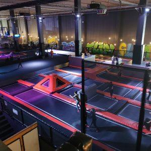 trampolinepark Jump-In, klimmuur Climb-In en binnenspeeltuin Kids-In bij Play-In The Wall Utecht