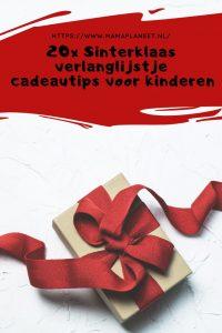 Sinterklaas verlanglijstje kind cadeautips amazon mamaplaneet.nl